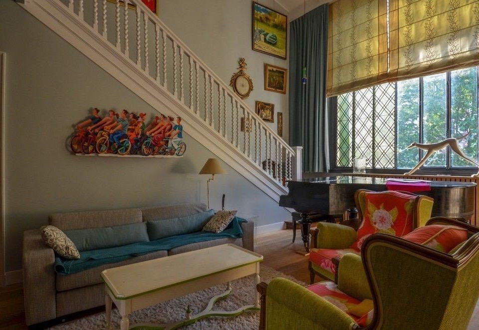 sofa property living room building house home cottage Villa condominium mansion