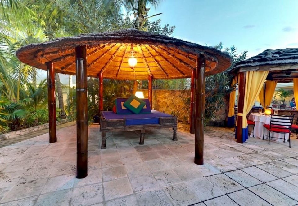 ground property building gazebo outdoor structure Villa hacienda cottage day