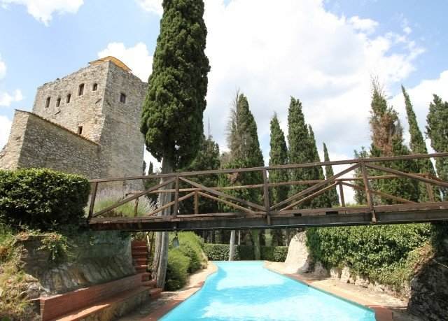 tree sky building property Villa stone