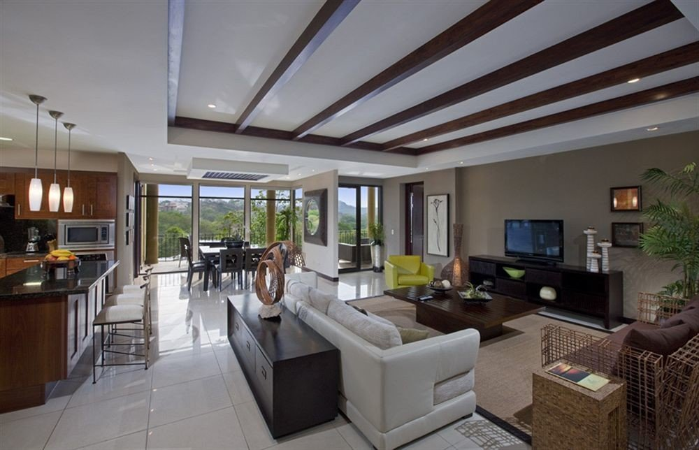 property condominium home living room Villa daylighting mansion