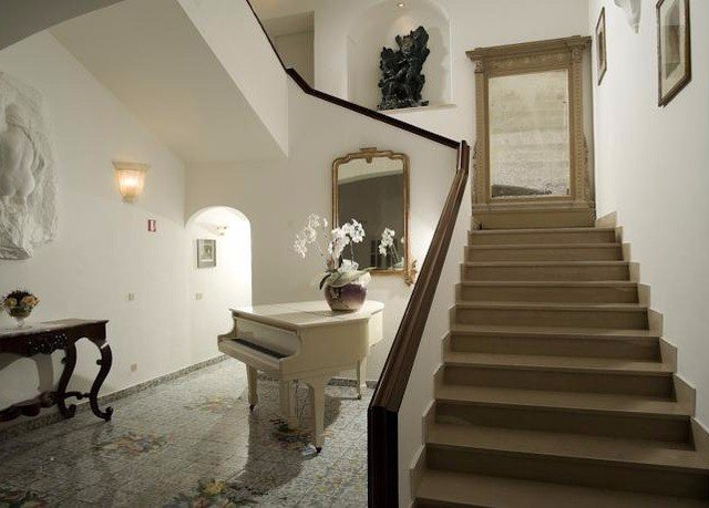 property stairs house home cottage hall living room Villa