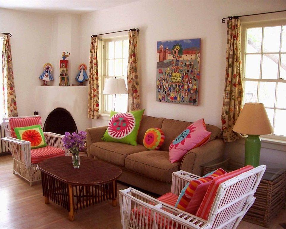 living room property home cottage Villa pink