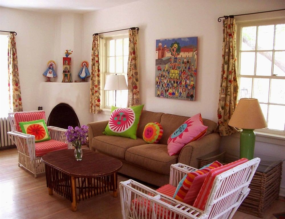 living room property home cottage Villa pink