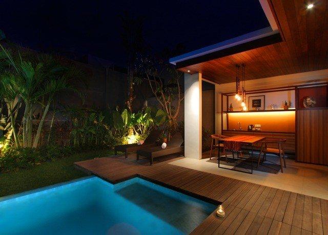 swimming pool property lighting Villa landscape lighting