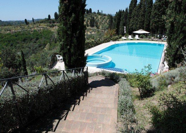 tree sky swimming pool property Villa walkway reservoir waterway