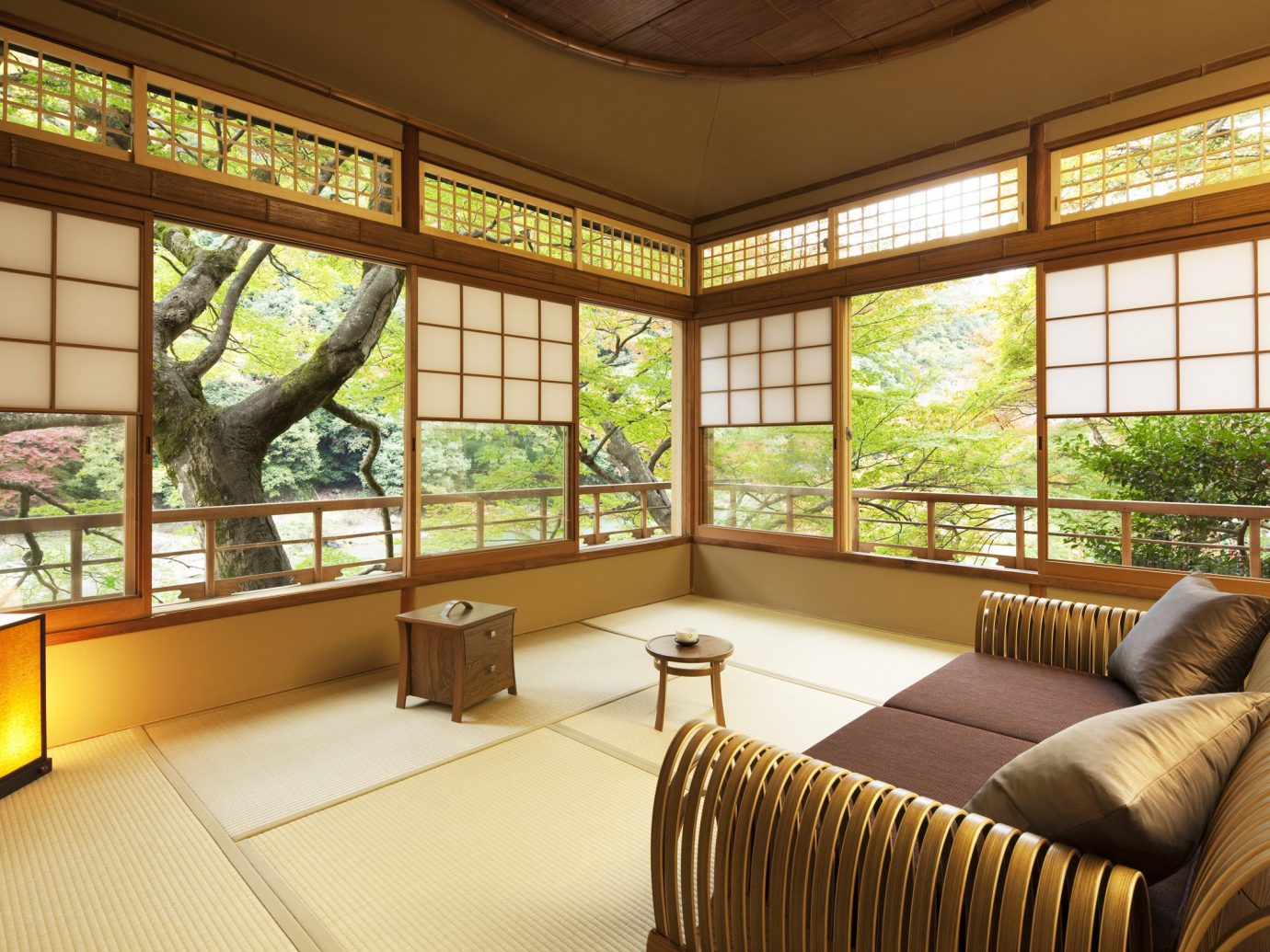 Beauty Health + Wellness Japan Kyoto San Francisco Travel Tips indoor sofa room Living floor window interior design ceiling real estate estate living room home daylighting house area furniture