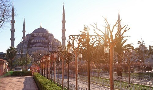 Jetsetter Guides sky outdoor building place of worship mosque railroad