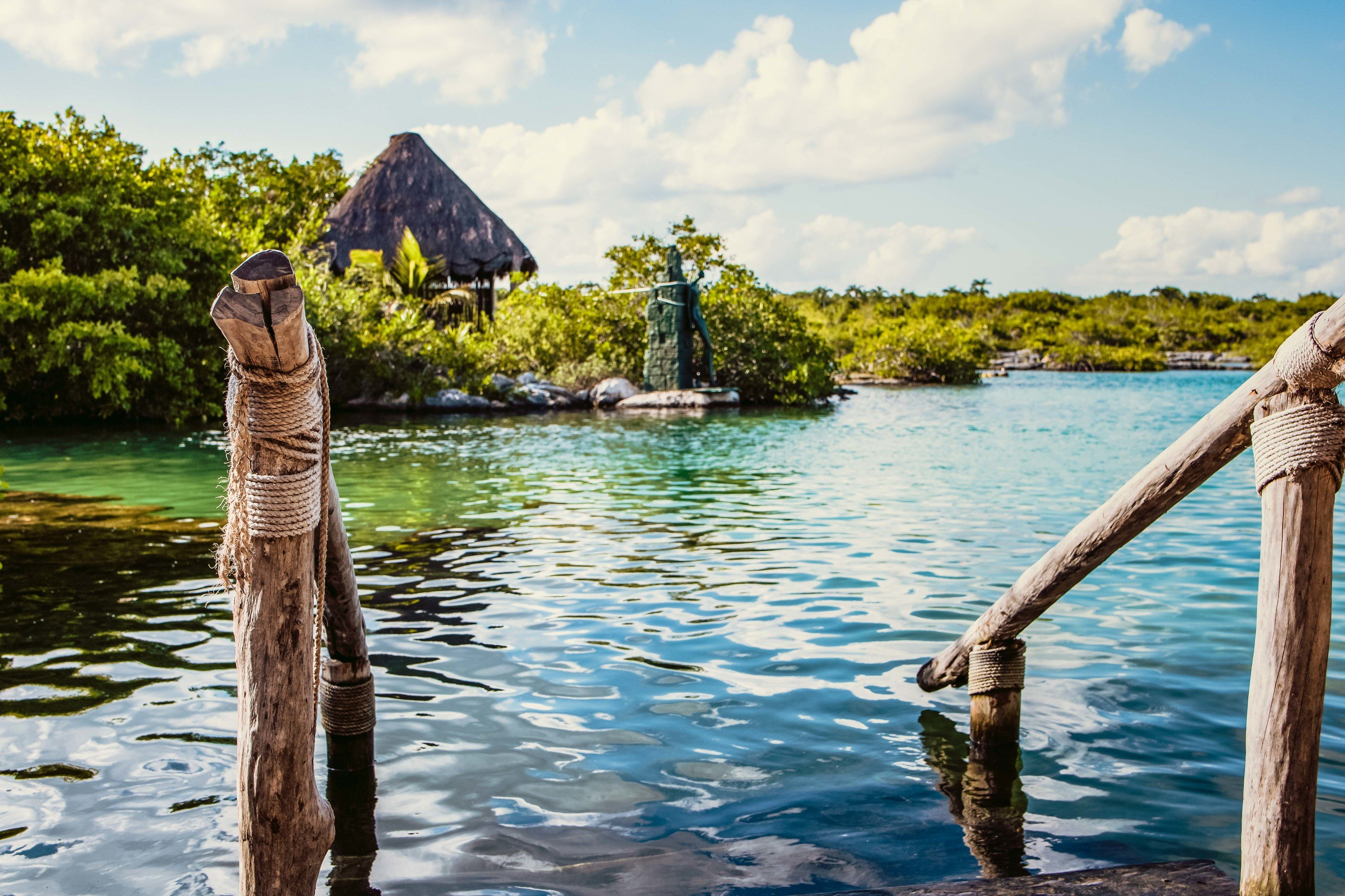 Mexico Trip Ideas Weekend Getaways water reflection Sea tree Lake sky water resources tourism leisure Lagoon landscape Ocean vacation River