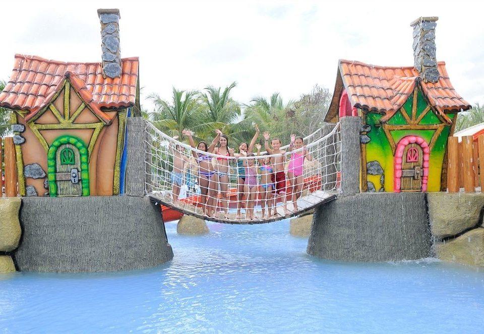amusement park leisure park Water park amusement ride outdoor recreation recreation nonbuilding structure colorful colored