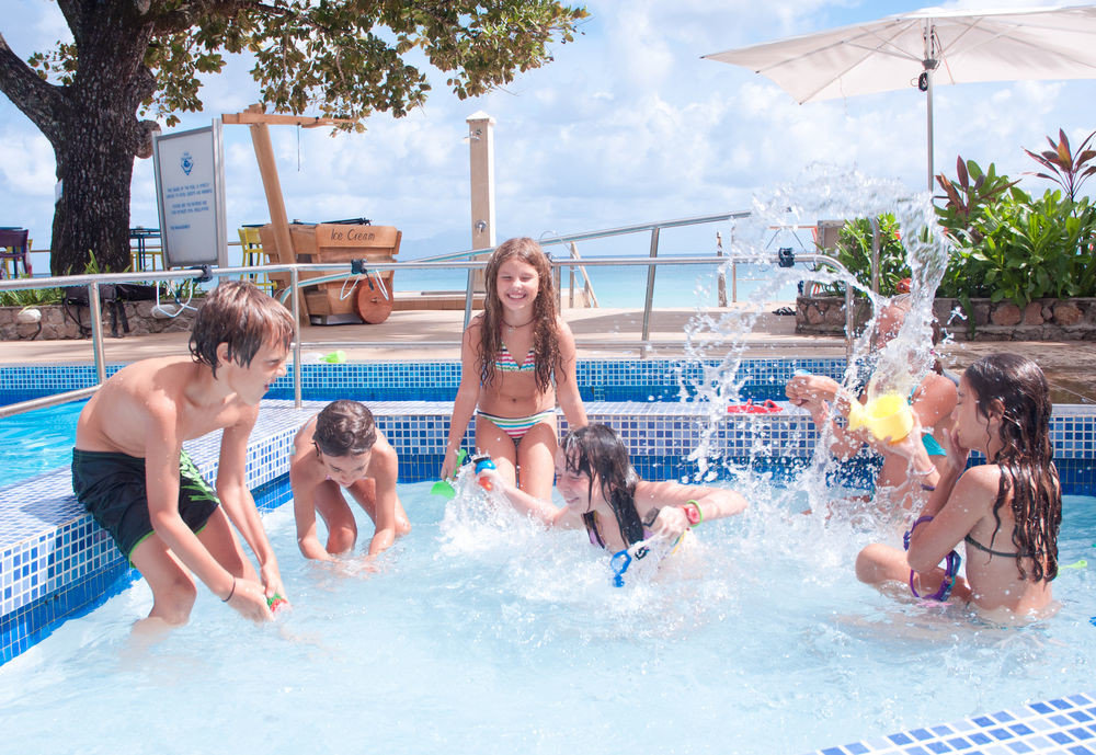 sky tree leisure child swimming pool Water park girl amusement park young little recreation park swimming