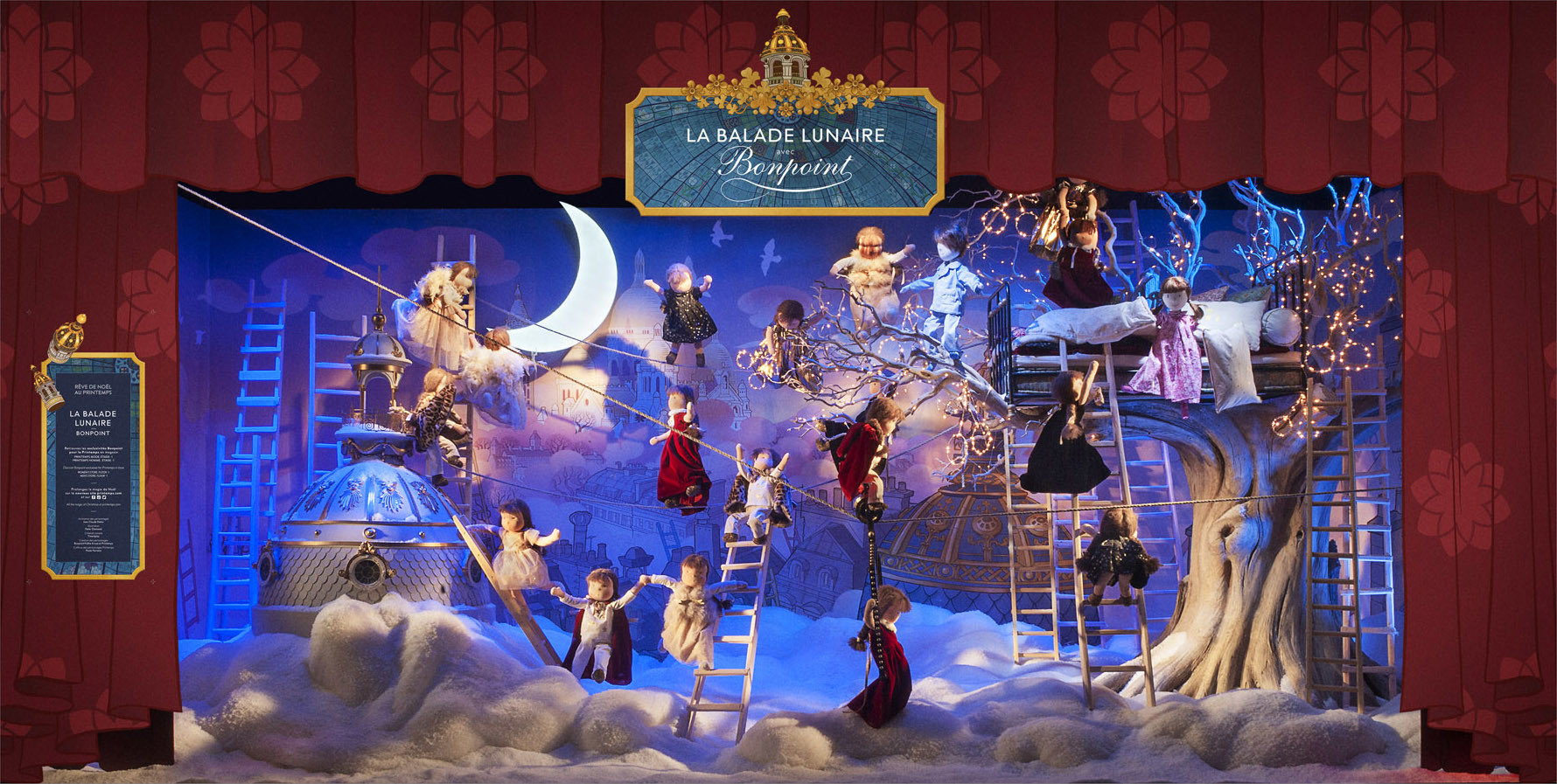 Trip Ideas stage musical theatre display window Christmas christmas decoration