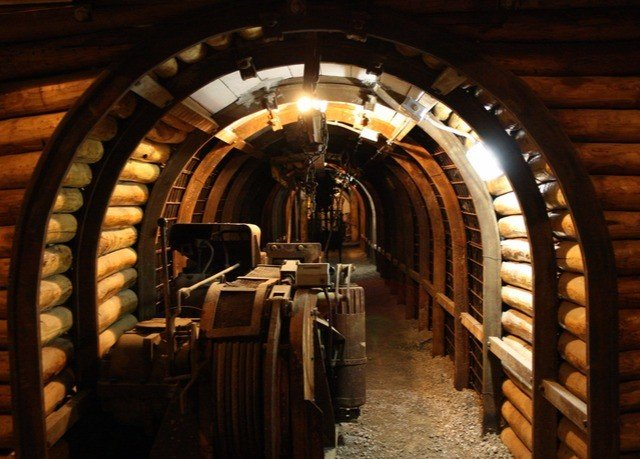 man made object building Winery wine cellar arch basement aisle crypt stone
