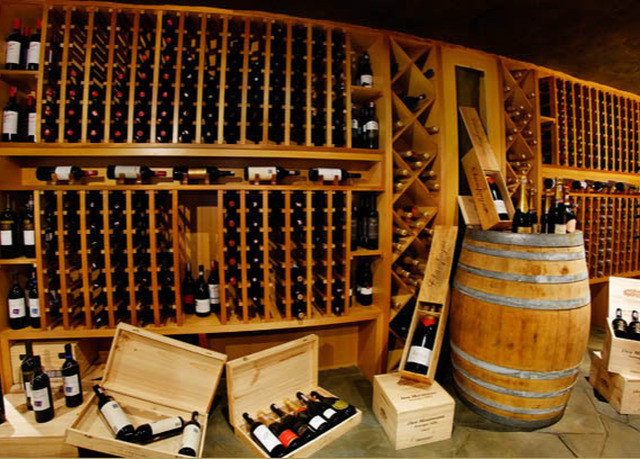 man made object Winery wine cellar tourist attraction basement cluttered