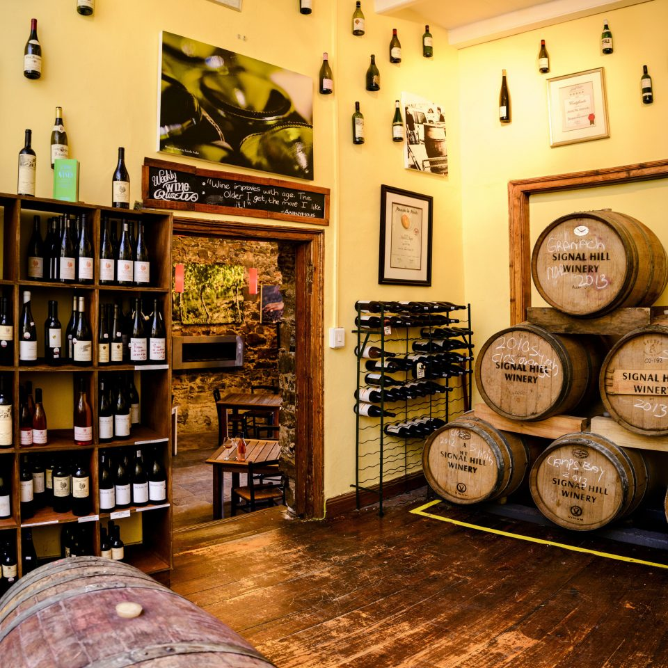 shelf Winery store