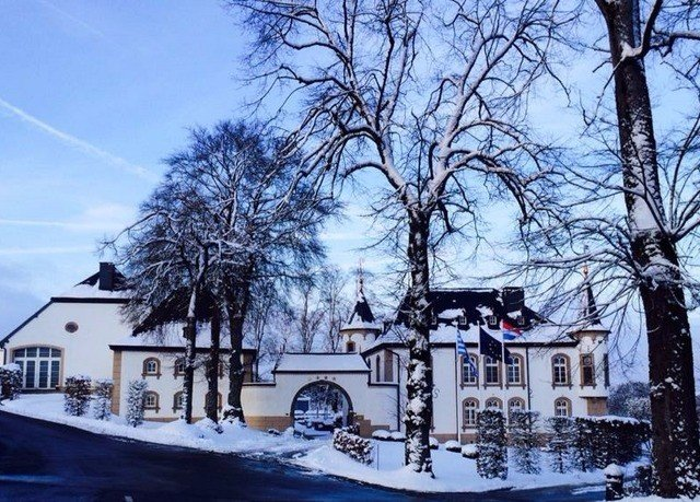 tree sky Winter snow weather season house home