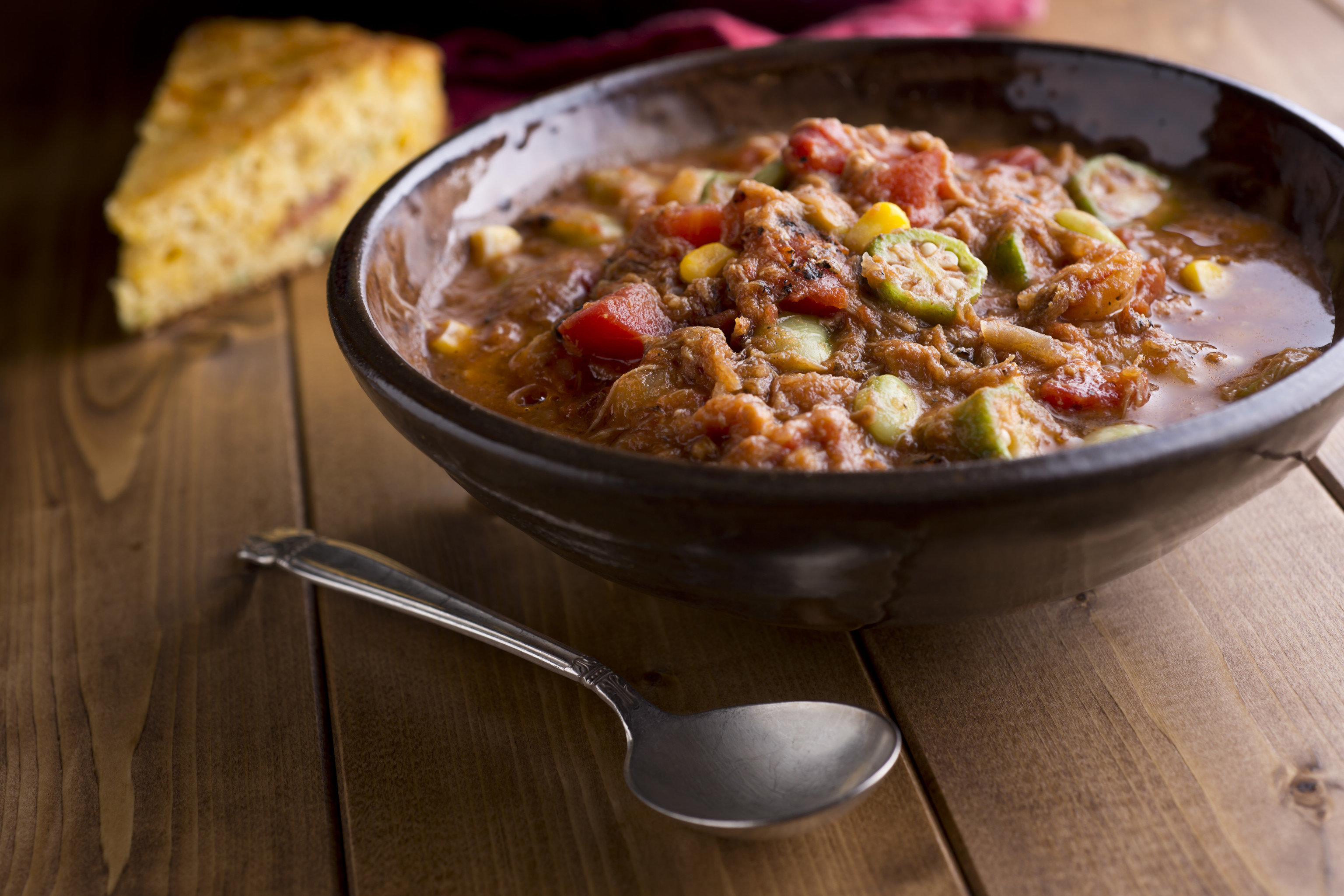 Food + Drink food dish cuisine produce meat vegetable meal gumbo soup