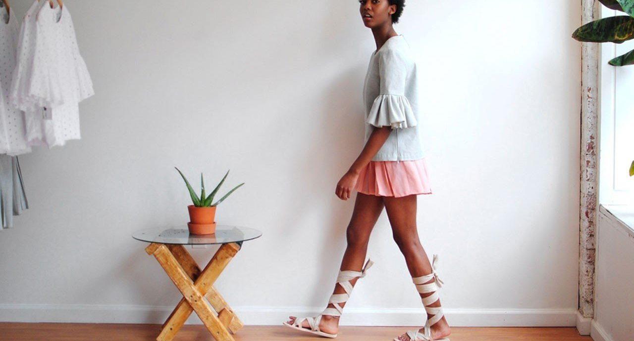 Style + Design wall indoor floor white clothing footwear spring fashion dress outerwear textile photo shoot abdomen fashion design