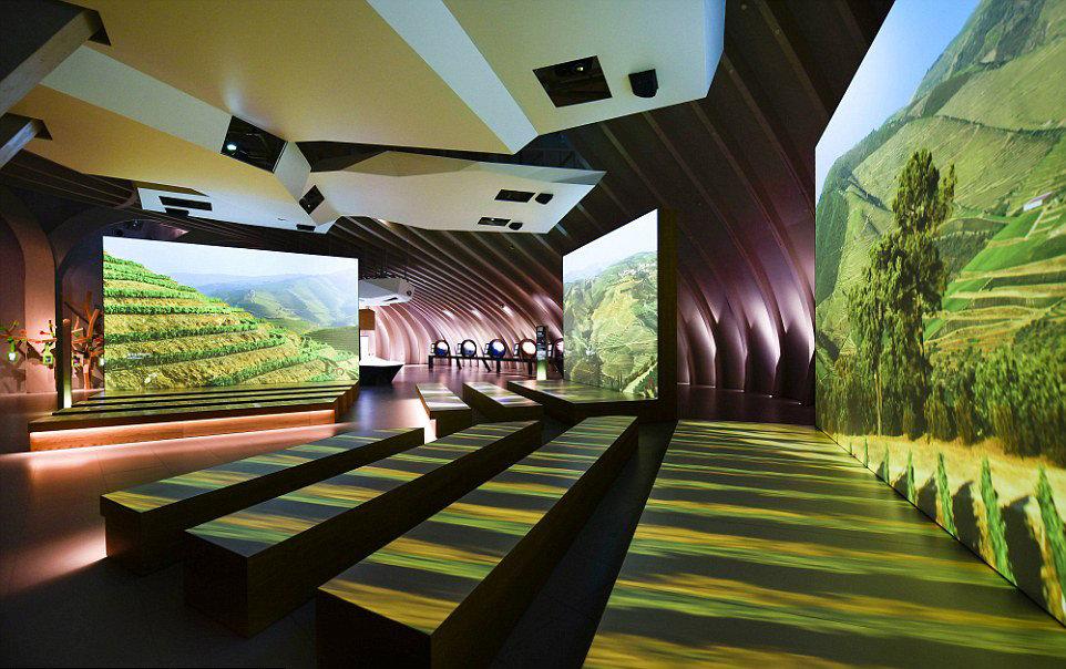 Arts + Culture color leisure indoor Architecture interior design estate Resort screenshot Design furniture