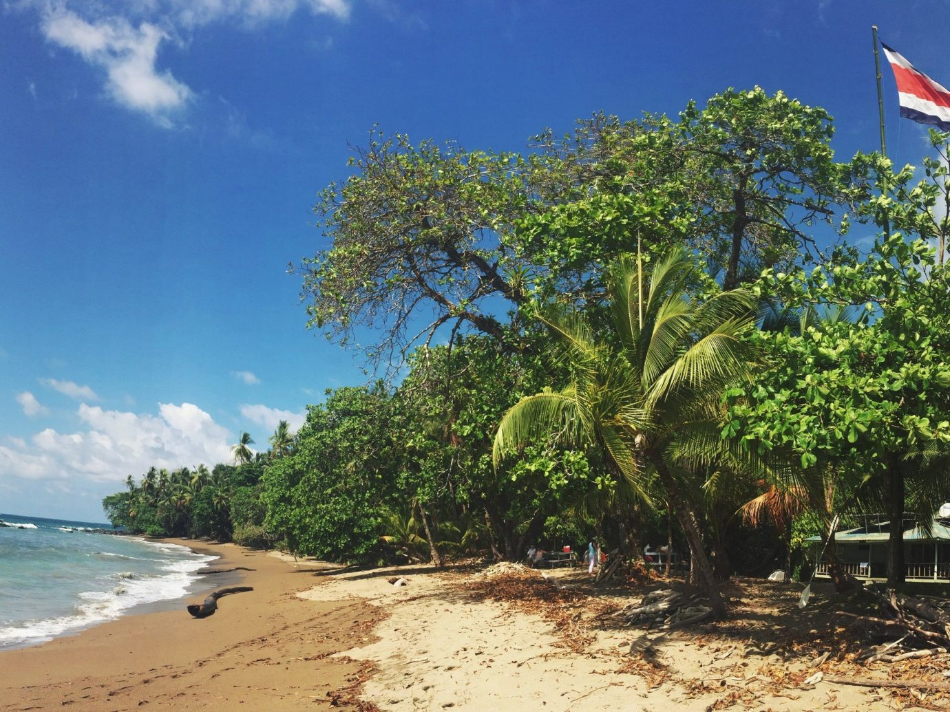 Beach on the Osa Peninsula in Costa Rica