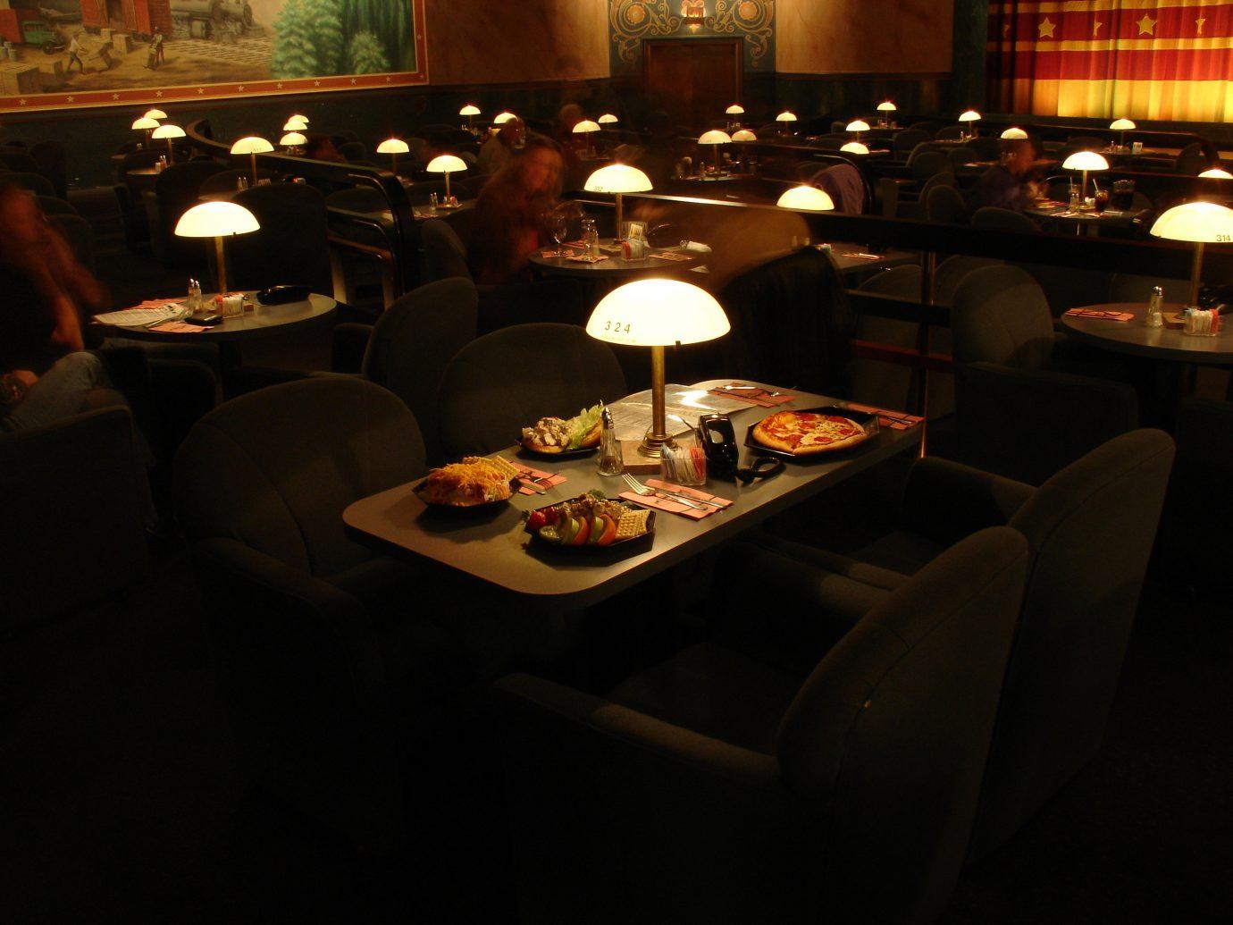 Arts + Culture table indoor restaurant meal room Bar dinner set