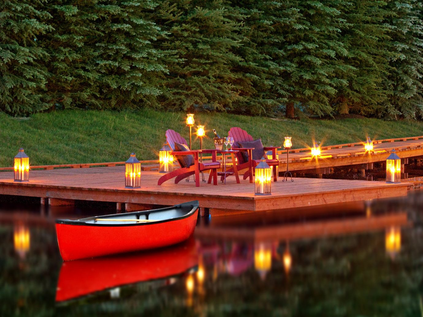 Adventure Boat Budget Country Family Forest Lake Lodge Mountains Outdoor Activities Outdoors River tree water outdoor vehicle watercraft rowing waterway boating watercraft Canal canoe bright colored
