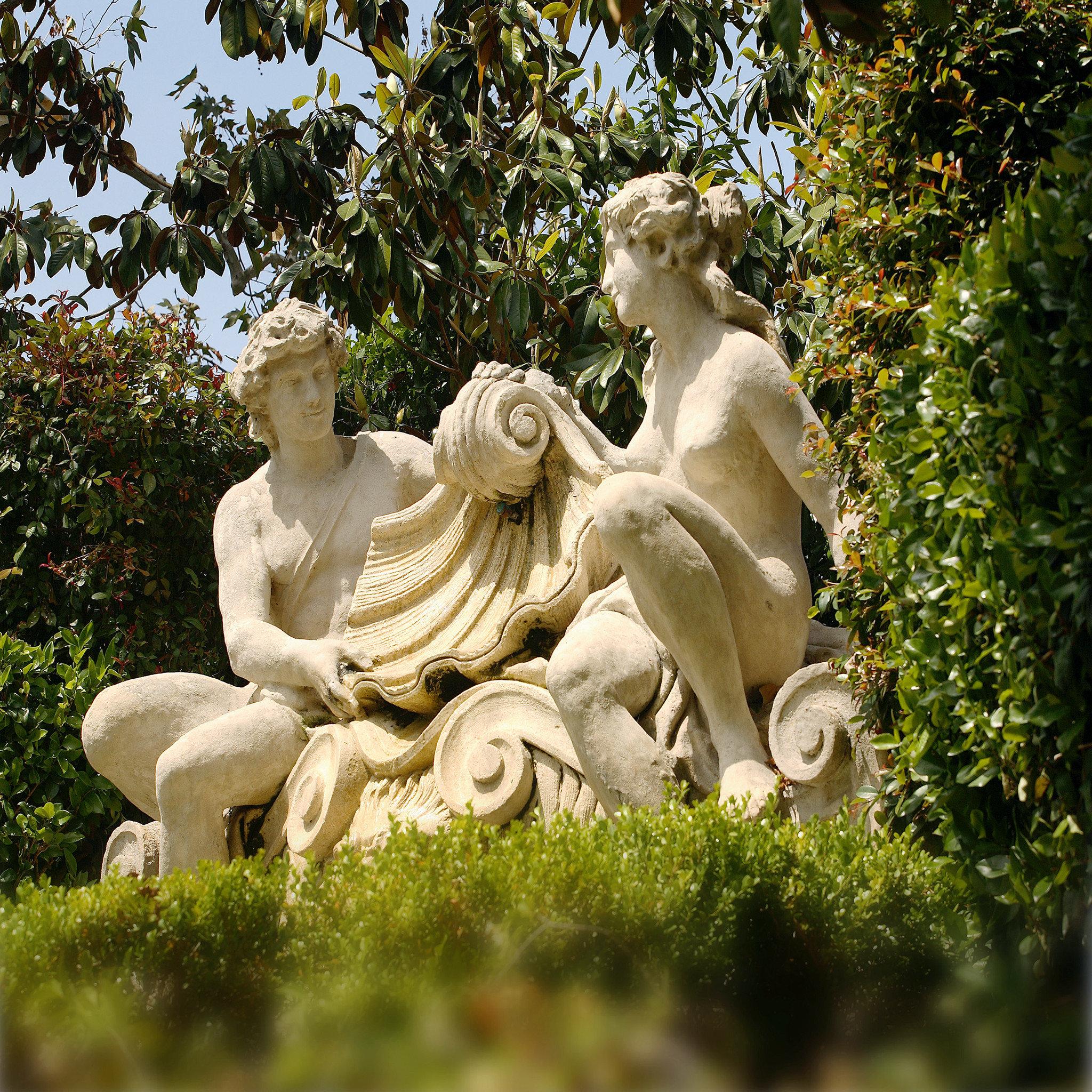 Hotels tree outdoor grass statue sculpture botany monument art Garden carving mythology flower