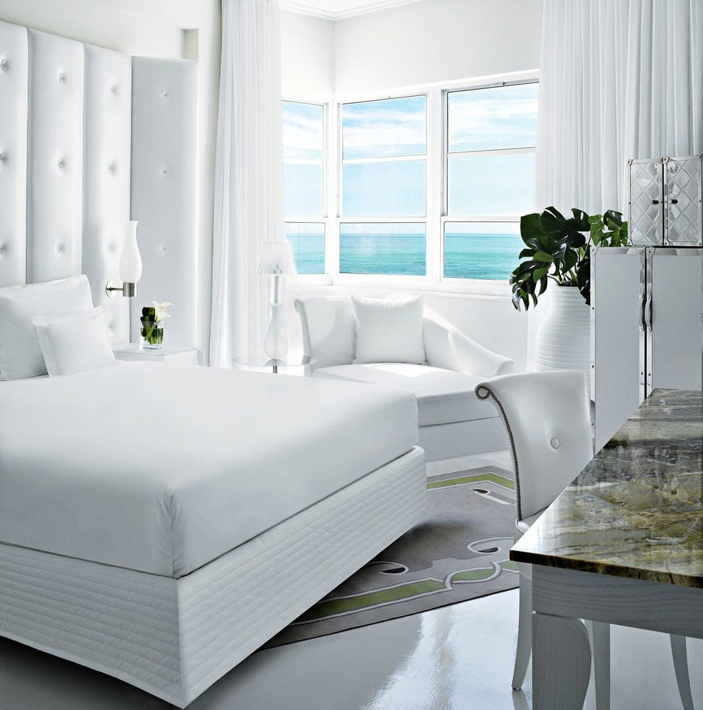 Architecture Beach Beachfront City Design Elegant Hip Honeymoon Hotels Landmarks Luxury Nightlife Party Pool Resort Romance Shop Waterfront indoor window floor wall white room furniture living room interior design bed bed frame Bedroom bed sheet window covering table