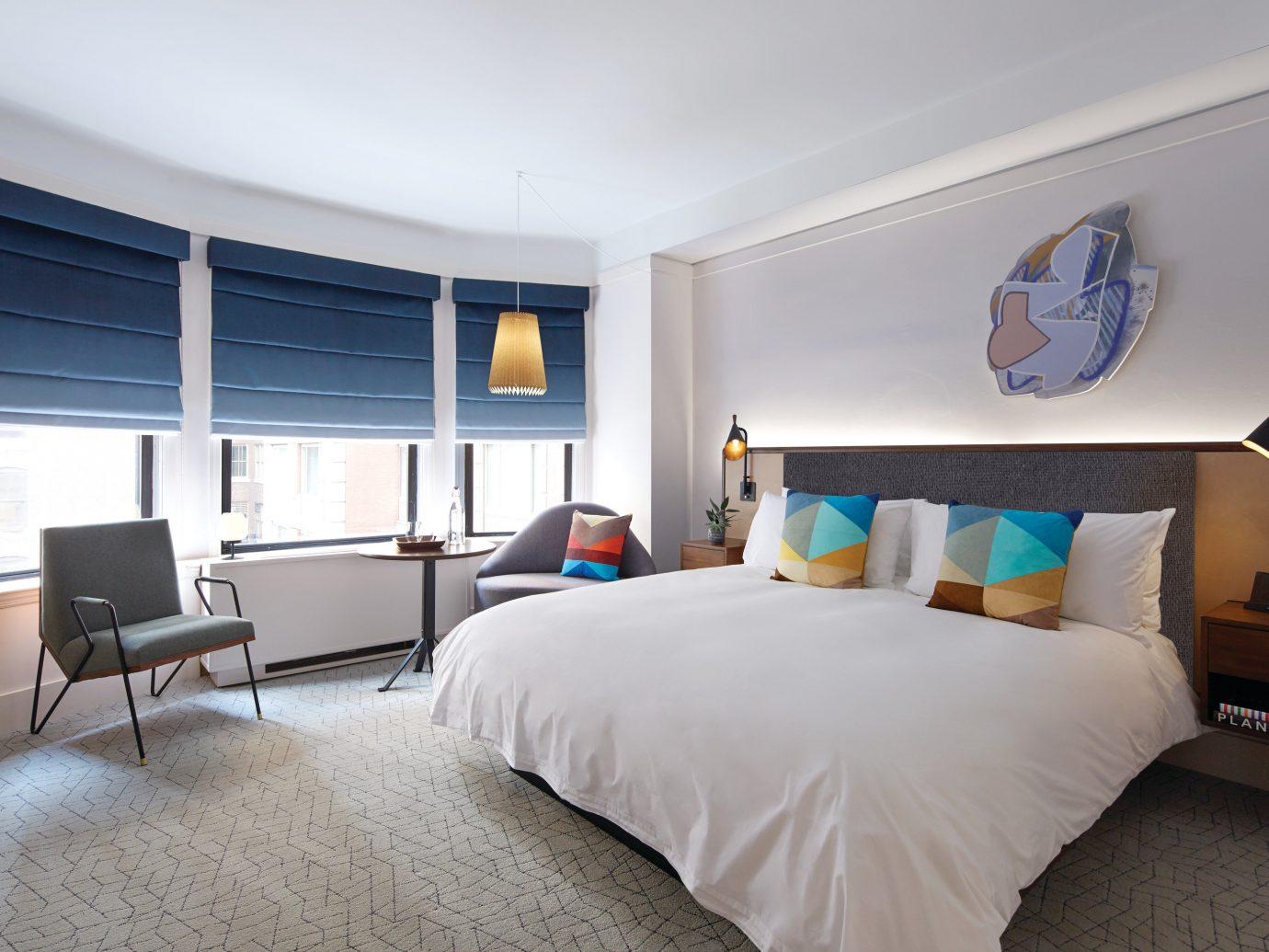 Hotels indoor bed wall floor room ceiling property Bedroom real estate interior design scene home Suite window estate hotel