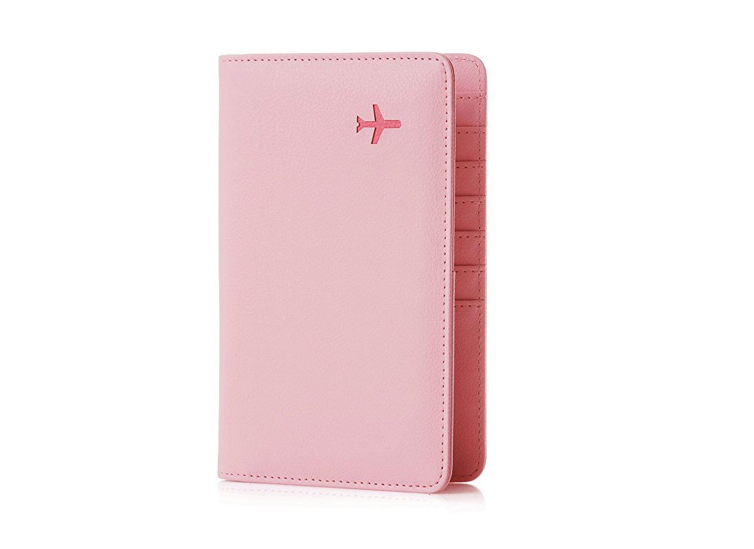 Style + Design pink case magenta wallet accessory brand leather