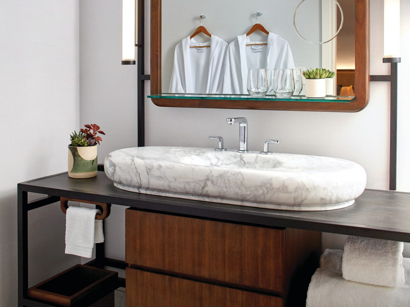 Hotels wall indoor room sink bathroom tap plumbing fixture interior design furniture bathroom cabinet Suite floor ceramic bathroom sink product bathroom accessory