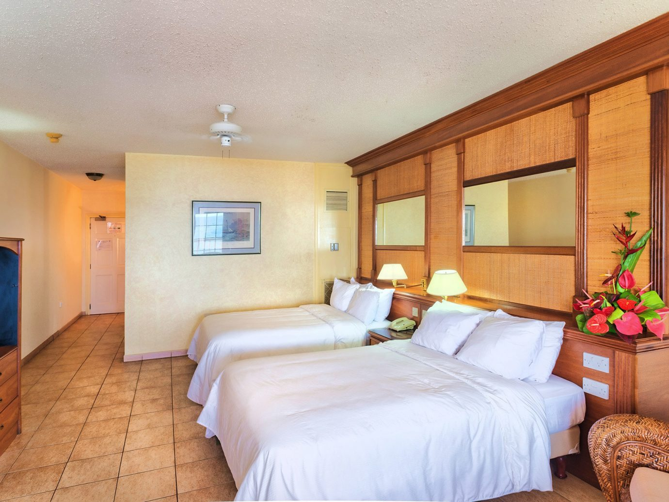 Trip Ideas indoor bed wall floor ceiling room property Bedroom Suite hotel estate real estate cottage Villa interior design living room apartment furniture