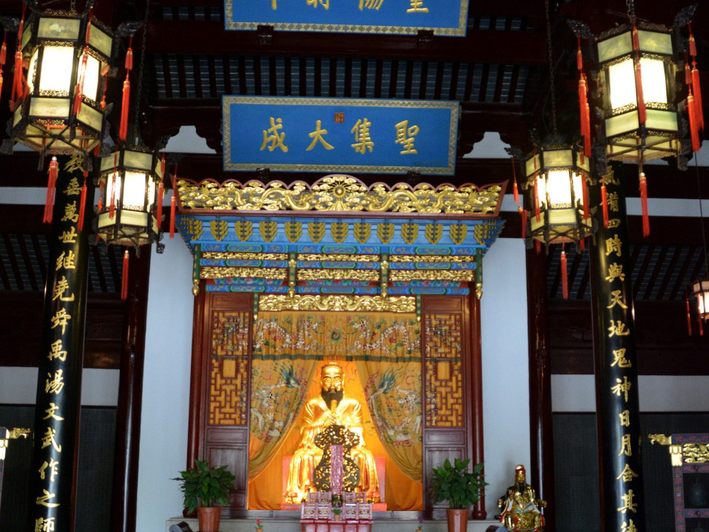 China china rose Shanghai Travel Tips Trip Ideas landmark shrine temple tourist attraction night place of worship building