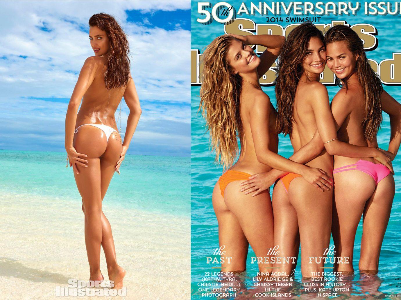 Style + Design outdoor person swimsuit clothing swimwear supermodel vacation sun tanning leg model photo shoot spring break