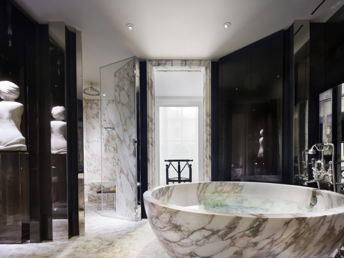 Hotels Luxury Travel indoor window room bathroom interior design home estate sink bathtub interior designer tub Bath
