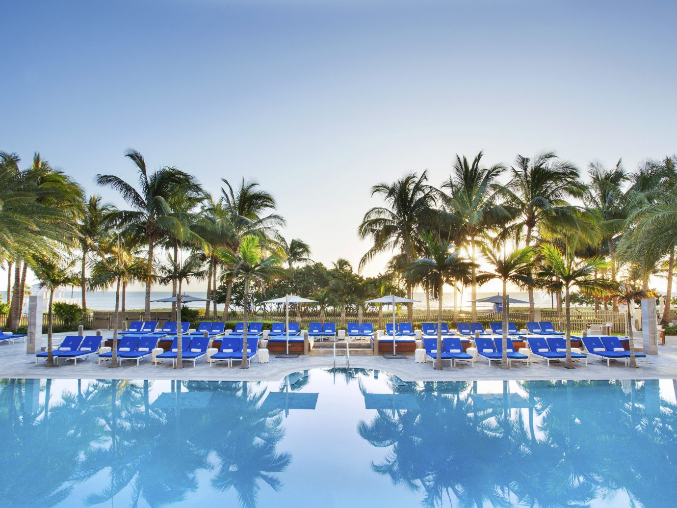 Pool at St. Regis Bal Harbour Miami Luxury Hotel