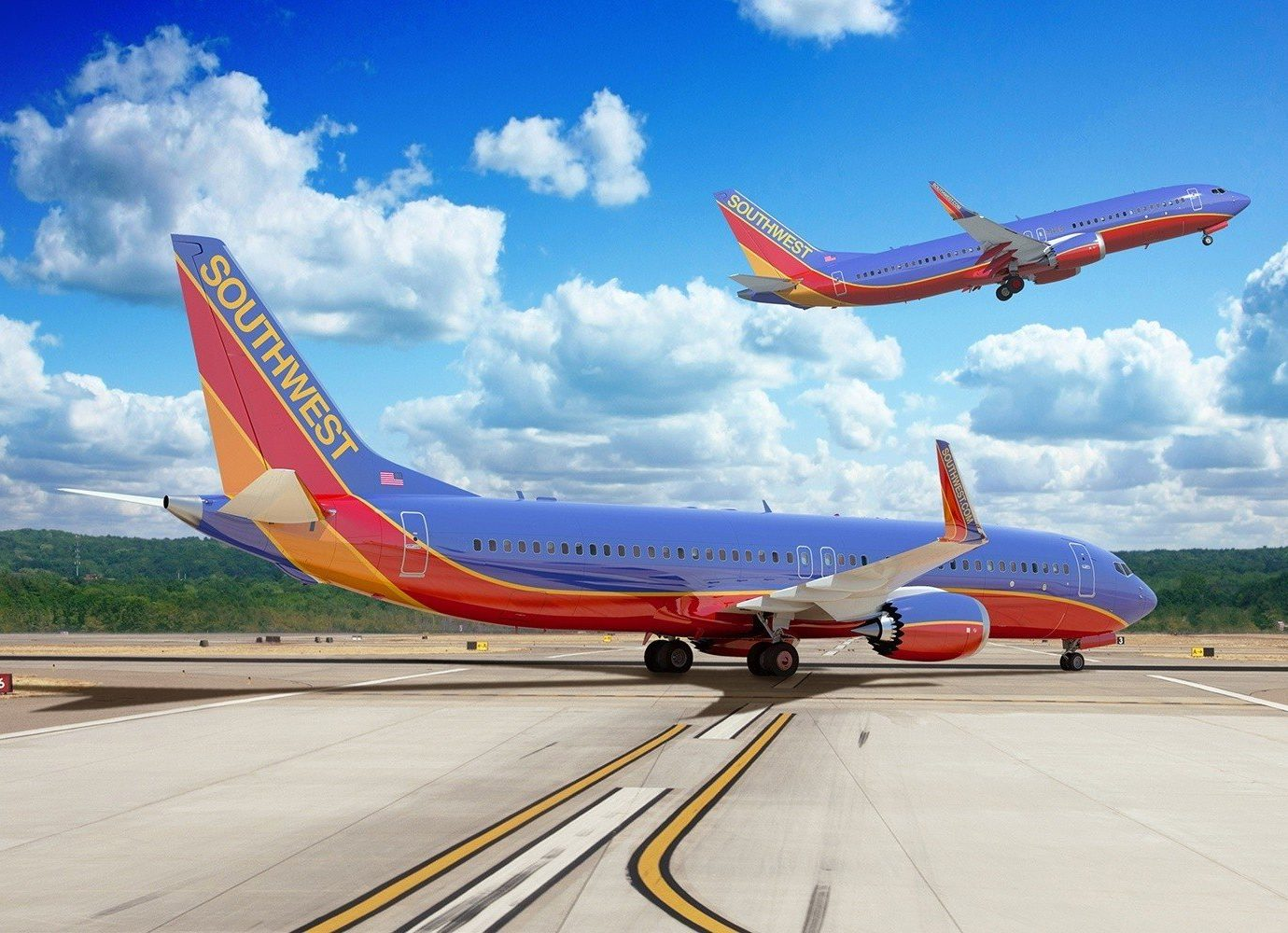 Travel Tips sky plane outdoor ground airline runway airliner airplane road vehicle boeing 737 airport air travel narrow body aircraft aircraft boeing boeing 737 next generation tarmac parked aviation transport jet aircraft atmosphere of earth airbus a330 wide body aircraft aerospace engineering flight boeing 767 takeoff wing blue day
