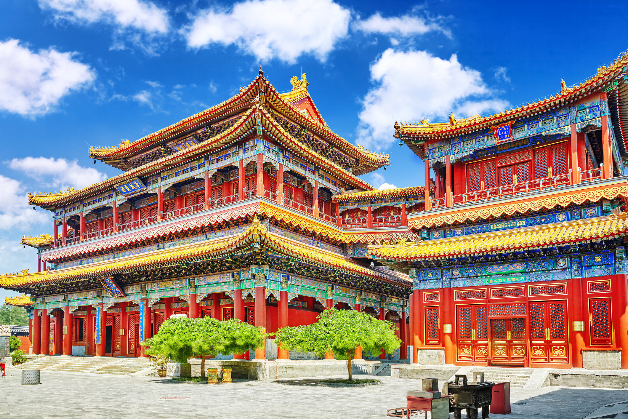 Trip Ideas sky place of worship chinese architecture lamasery temple building historic site landmark hindu temple palace pagoda tower shrine shinto shrine orange colorful