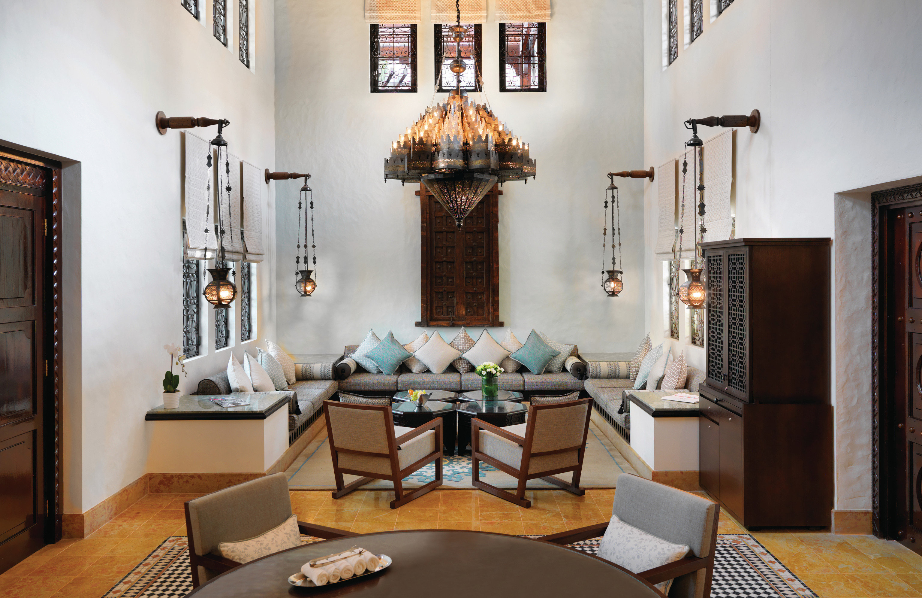 Dubai Hotels Luxury Travel Middle East wall indoor table floor room living room interior design Living furniture dining room home ceiling interior designer