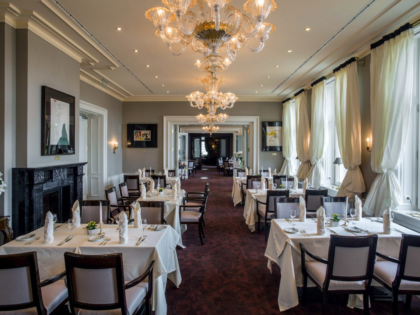 City Classic Dining Drink Eat Elegant europe Historic Hotels Prague indoor floor ceiling chair room window function hall dining room meal estate restaurant ballroom interior design furniture conference hall mansion decorated area several