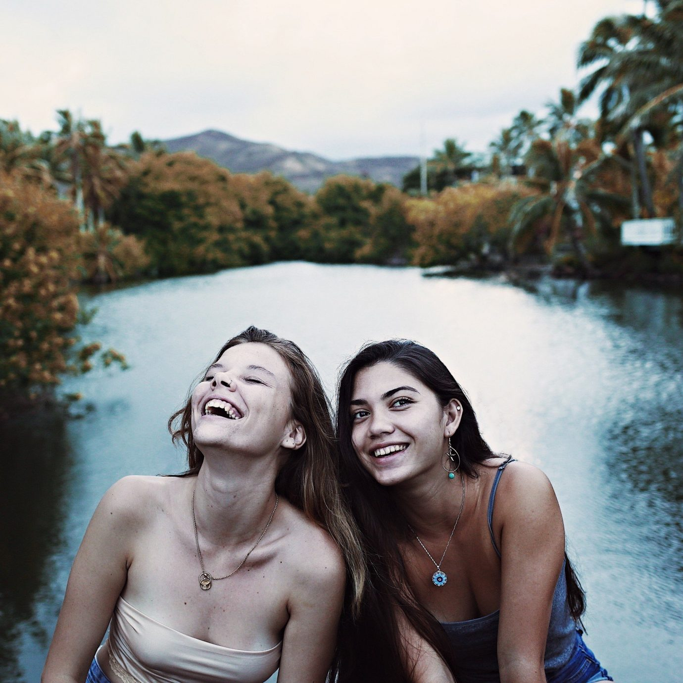 Packing Tips Travel Shop water sky outdoor person tree photograph Beauty fun girl photography vacation River smile leisure happiness Lake swimsuit posing