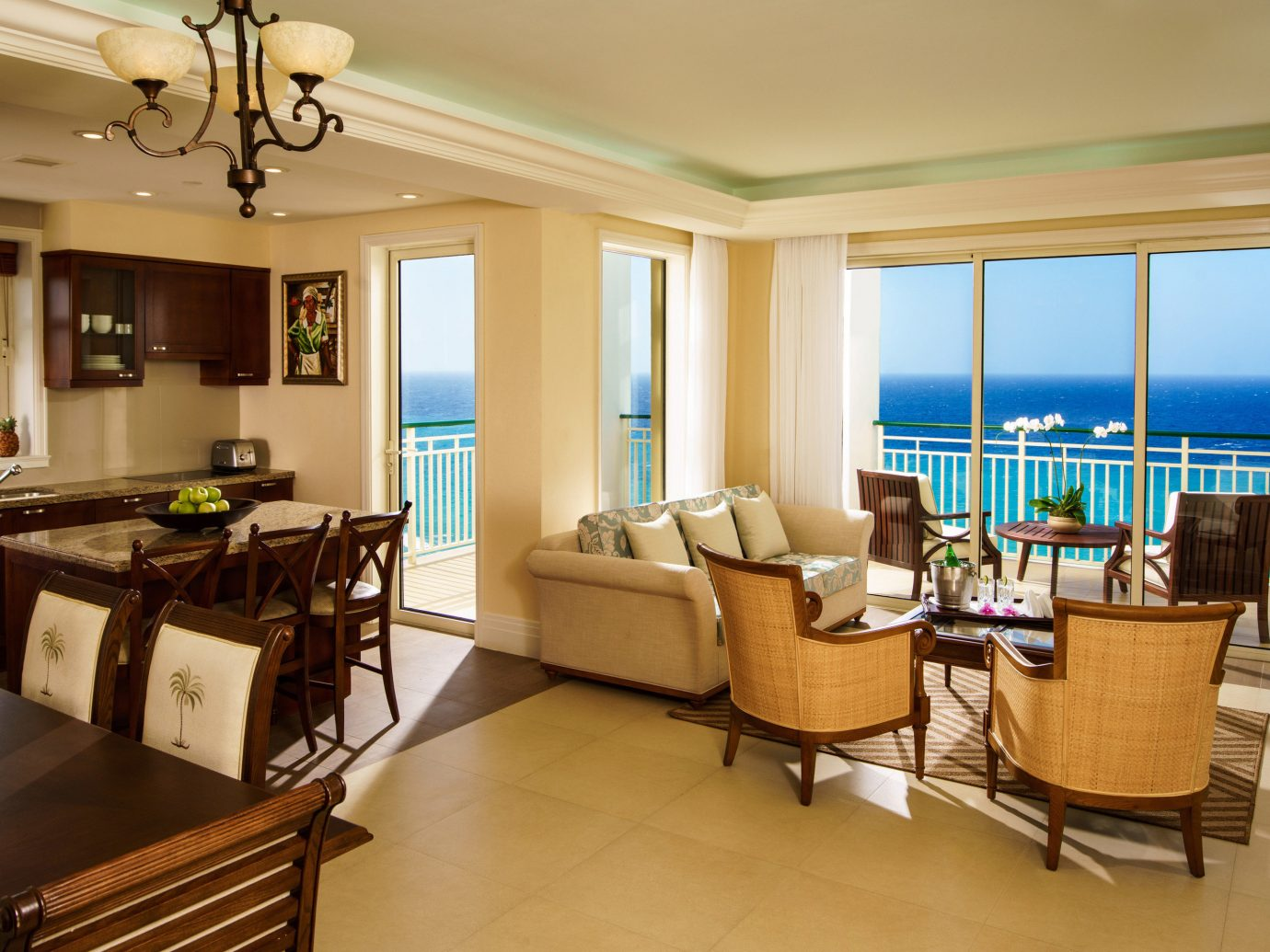 All-Inclusive Resorts caribbean Family Travel Hotels indoor floor ceiling window wall room Living property living room interior design furniture real estate estate Suite apartment penthouse apartment condominium nice flooring wood Bedroom area several Island
