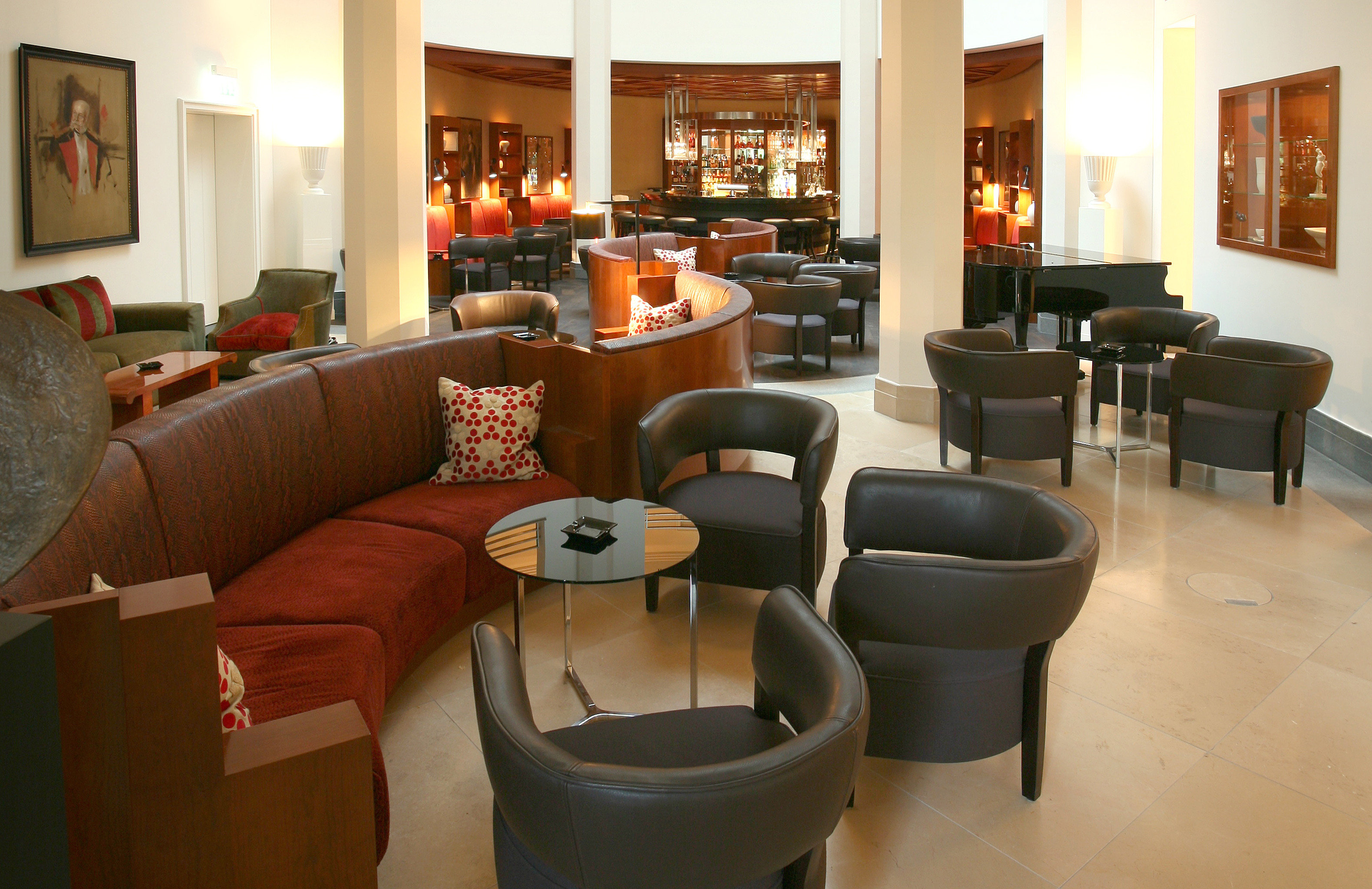 europe Germany Hotels Living Lounge Luxury Modern Munich indoor floor wall room property chair window living room home interior design estate Suite real estate furniture apartment area
