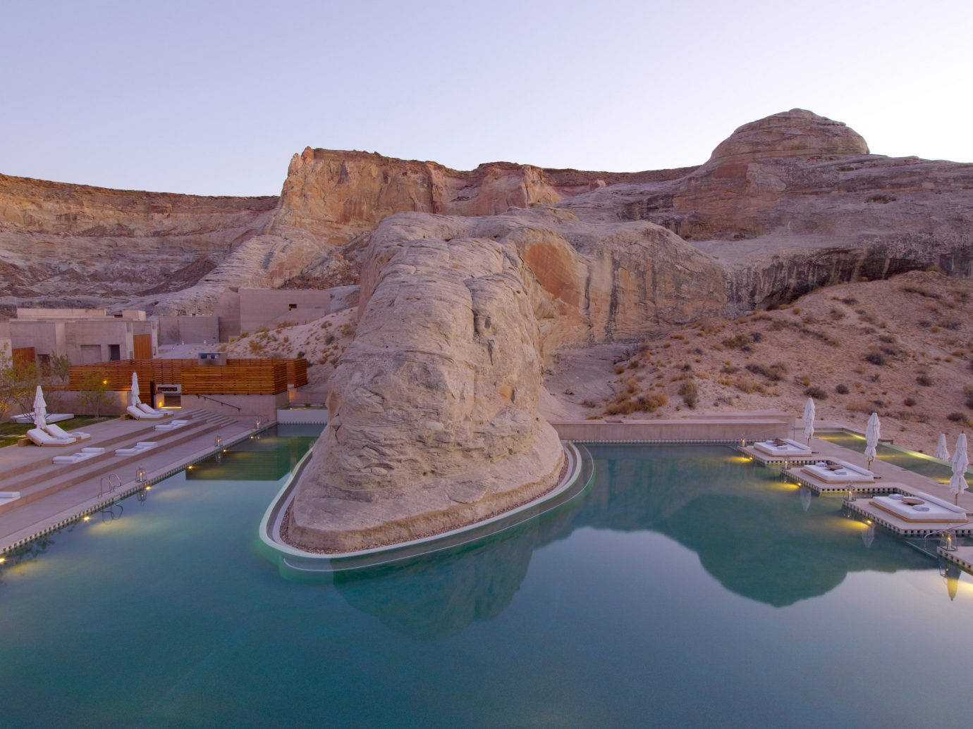 Trip Ideas sky outdoor mountain landform valley Nature Lake wadi landscape badlands reflection canyon terrain reservoir cliff Big Water