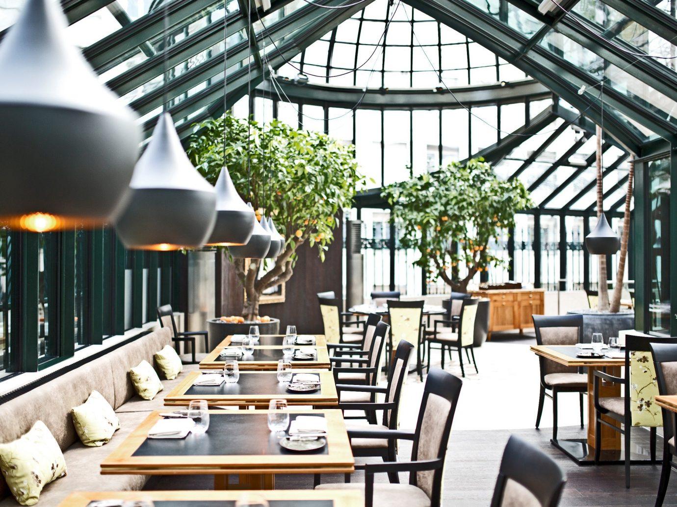 Austria europe Hotels Vienna restaurant interior design outdoor structure roof