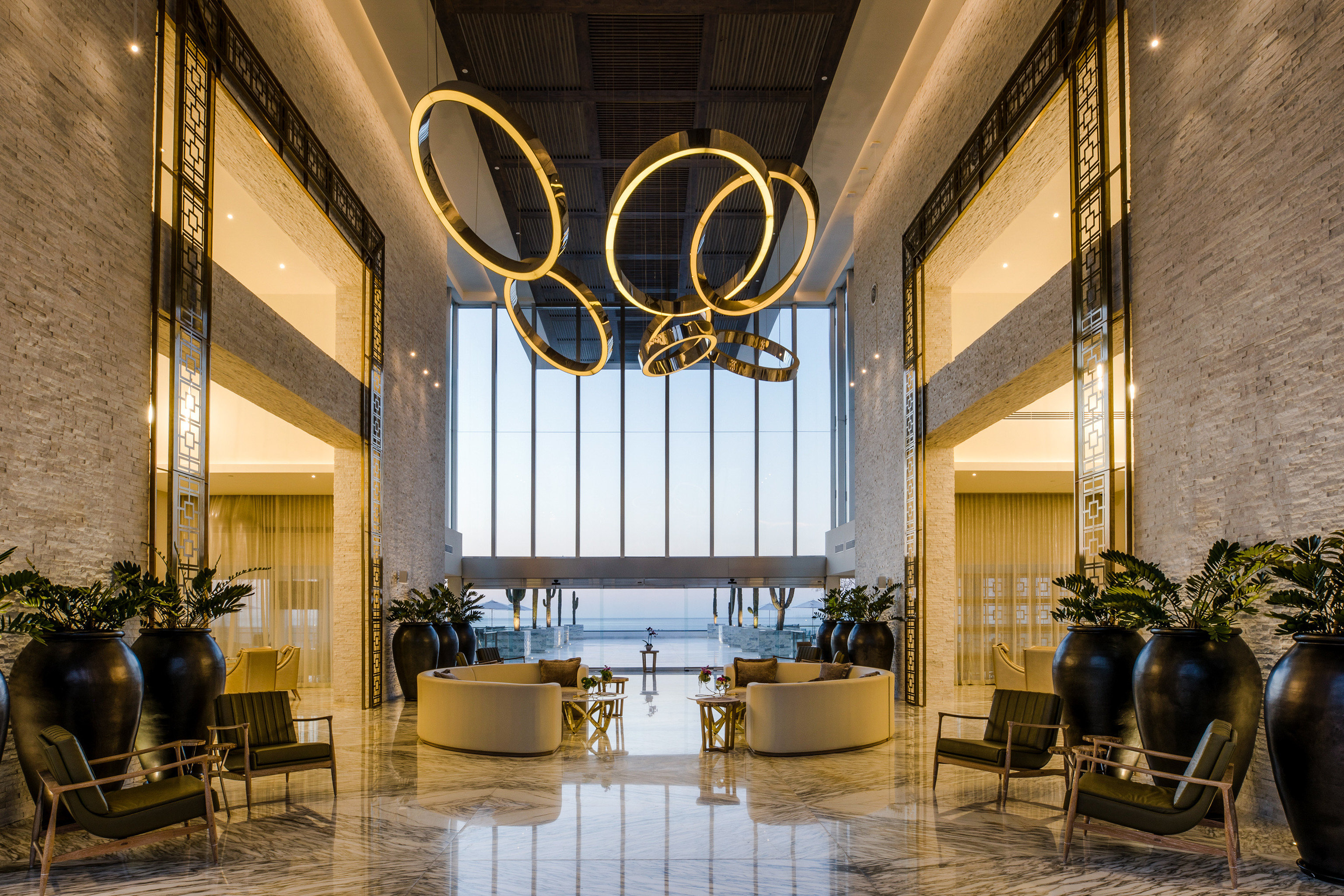 Adult-only All-Inclusive Resorts Cancun Hotels Mexico Lobby interior design window ceiling