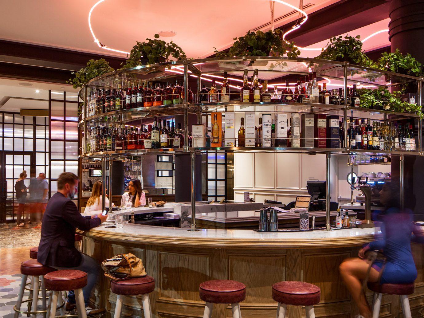 Canada Hotels Toronto building restaurant Bar interior design café several