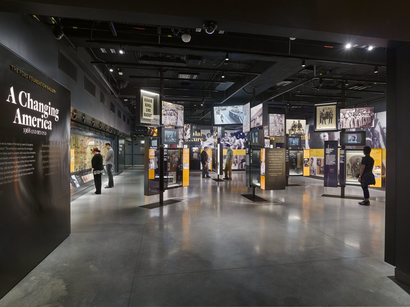 National Museum of African American History and Culture interior