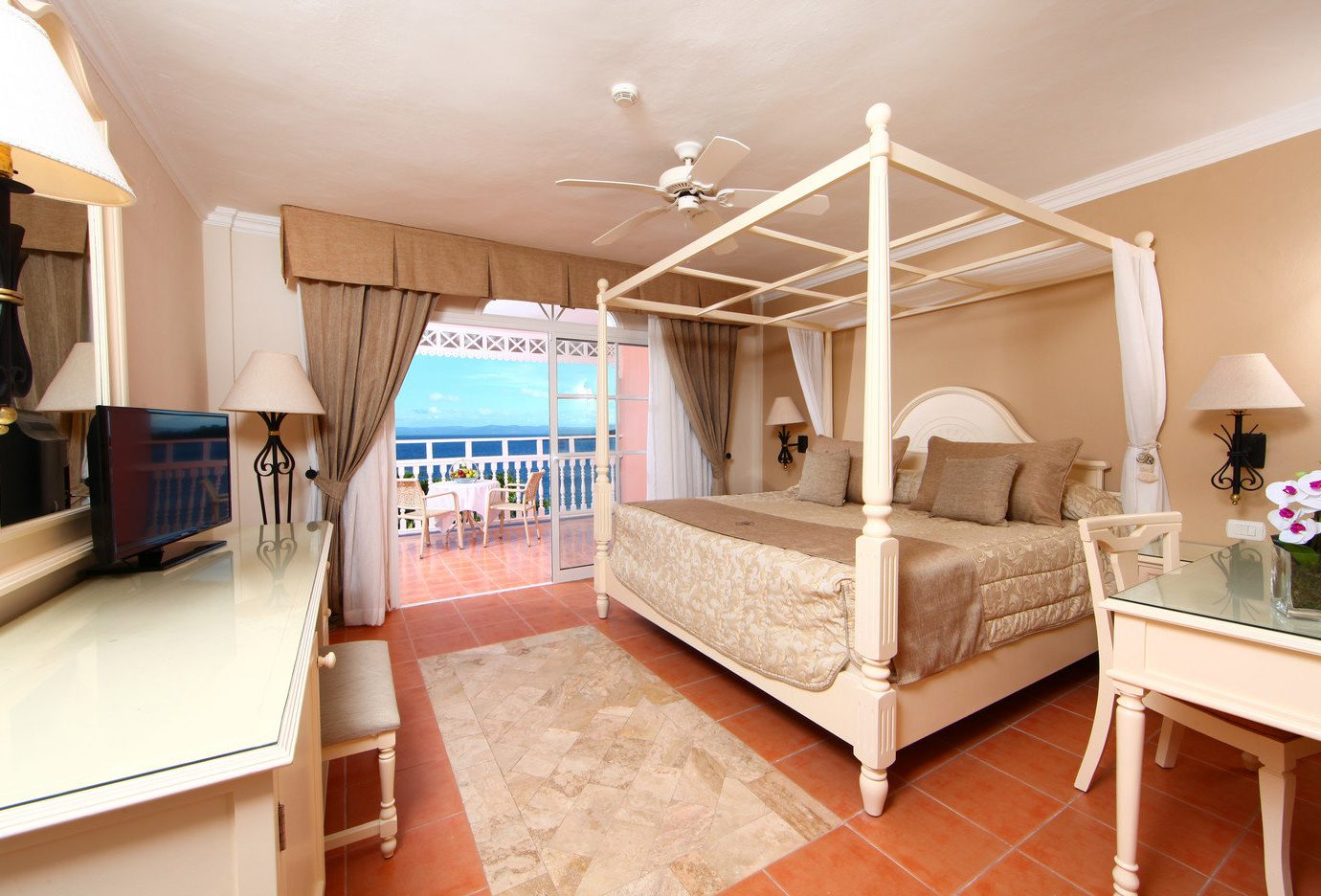 All-Inclusive Resorts Budget caribbean Hotels floor indoor wall room ceiling real estate Bedroom interior design estate Suite furniture