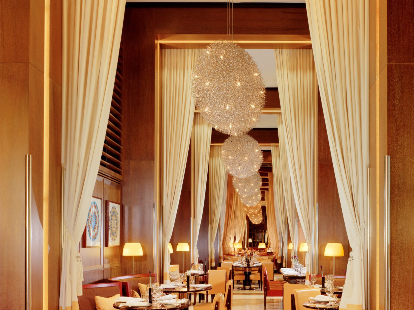 Dining room at 45 Park Lane CUT restaurant