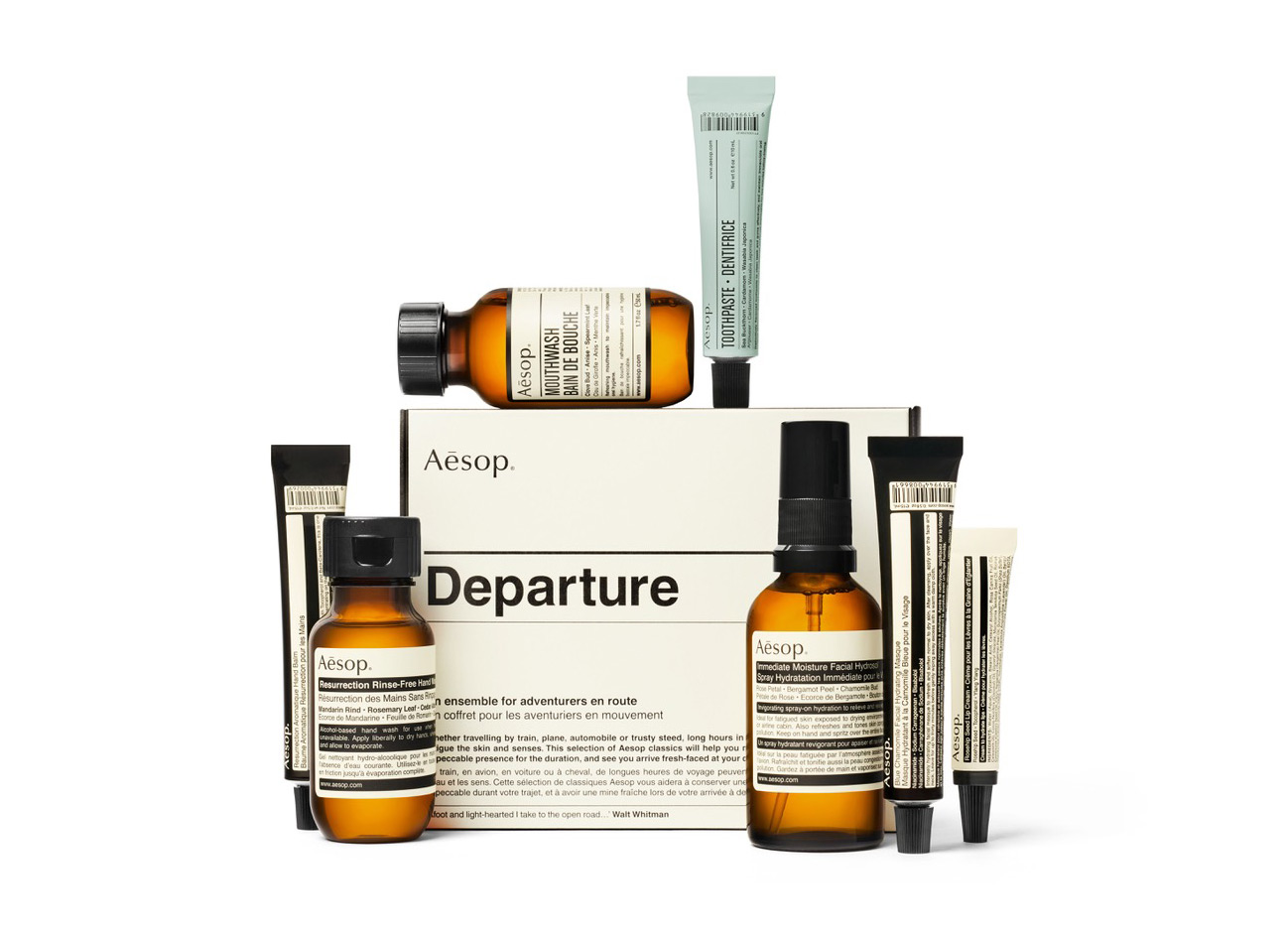 Aesop Departure Travel Kit